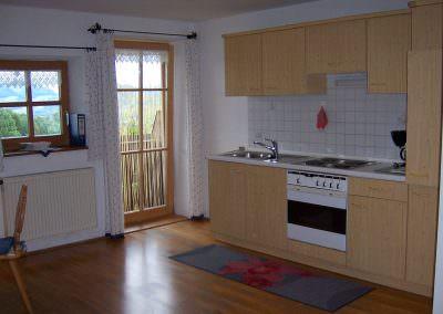 Küche Fewo 3 Altenburgerhof
