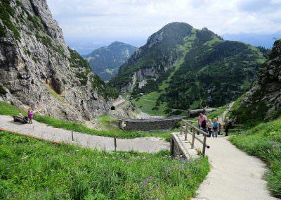 Wandern in den Bayerischen Bergen