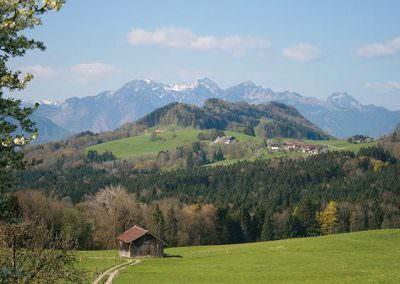 Alpenhochtal Samerberg