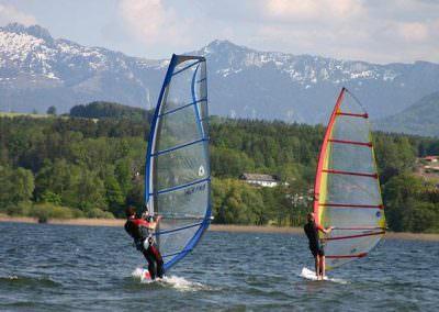 Windsurfen auf dem Chiemsee