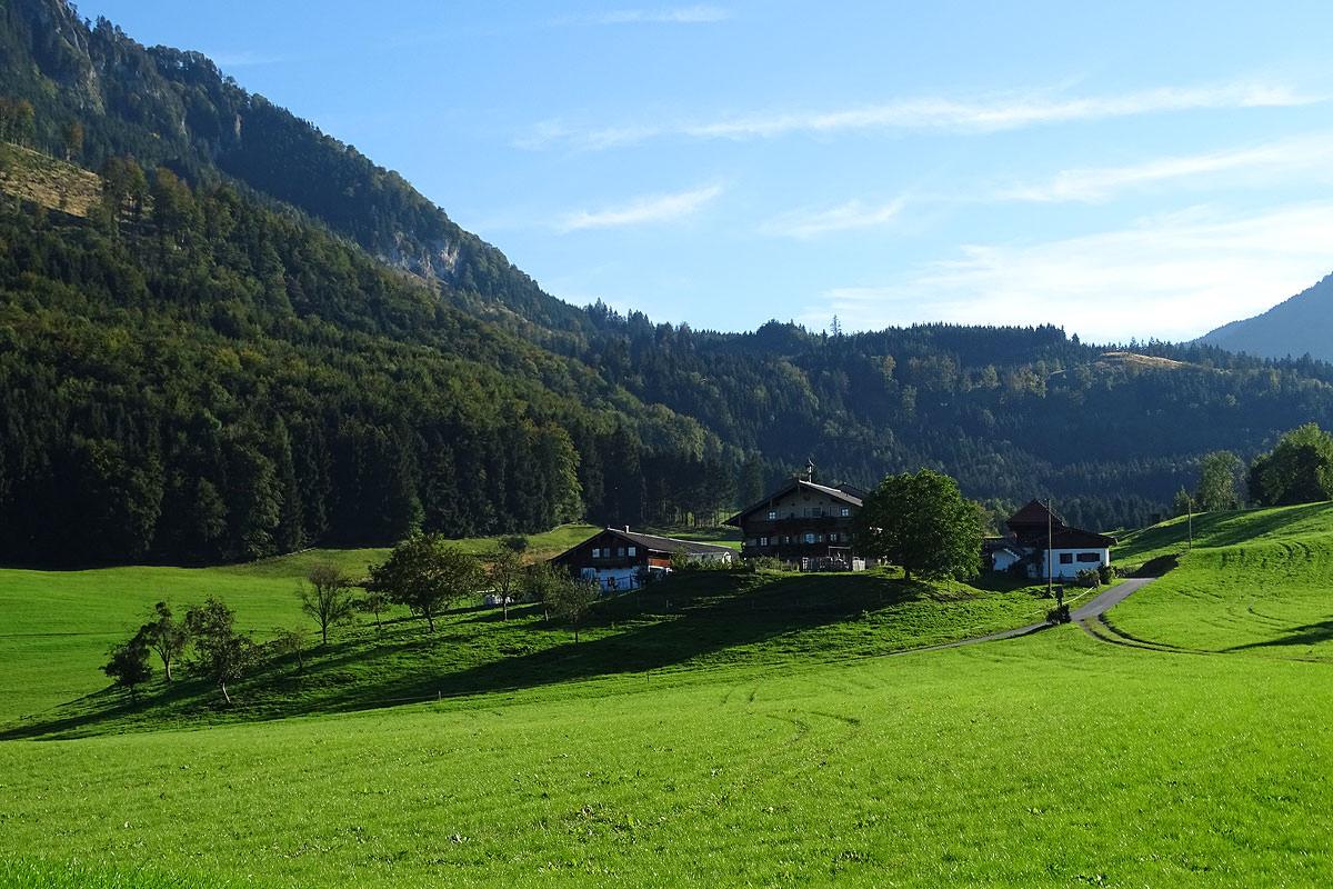 Ansicht Altenburger Hof in Brannenburg