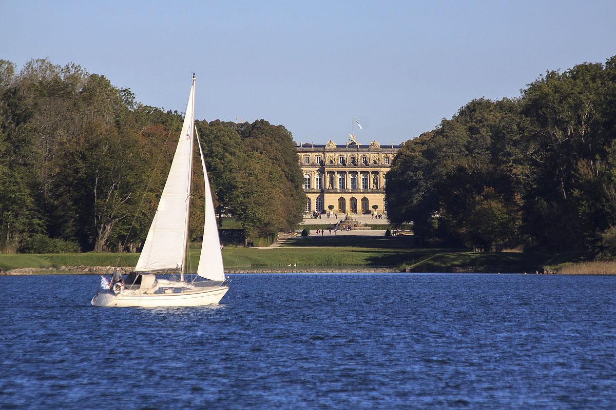 Das beliebte Ausflugsziel - Königsschloss Herrenchiemsee