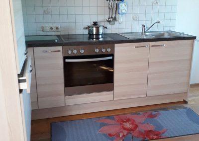 Küche Fewo 1 auf dem Altenburgerhof