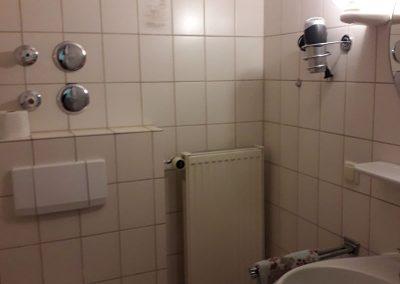 Badezimmer in der Fewo 2
