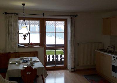 Wohnküche in der Fewo 2