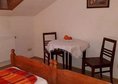 Schlafbereich Apartment Zimmer