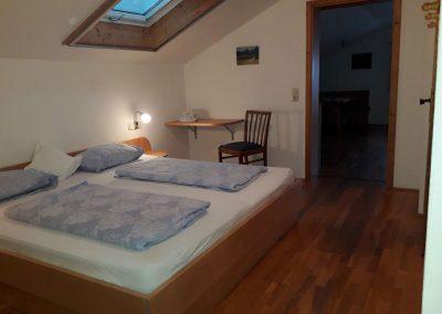 Schlafzimmer Fewo 3 auf dem Altenburgerhof